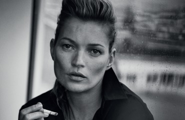 PLKate Moss, Paris, 2015 Vogue Italia © Peter Lindbergh