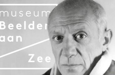 Affiche tentoonstelling Picasso aan zee - Museum Beelden aan Zee