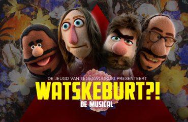 Affiche Watskeburt?! Bos Theaterproducties - Beeld Balder Westein