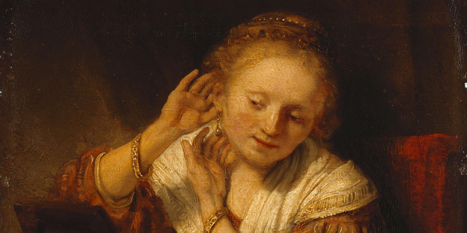 Rembrandt-Jonge-vrouw-met-oorbellen-1656-State-Hermitage-Museum-St-Petersburg