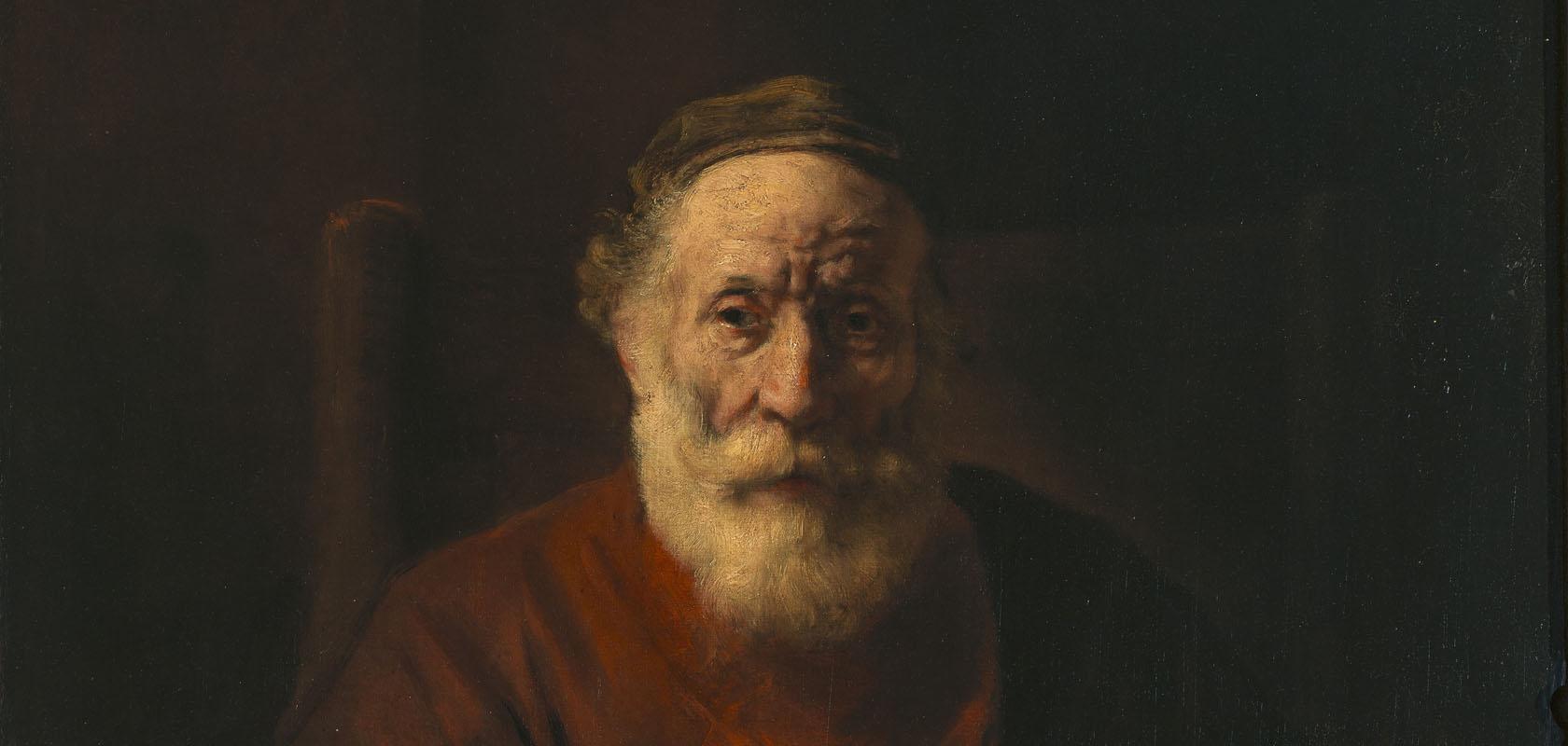 Rembrandt-van-Rijn-Portret-van-een-oude-man-in-het-rood-State-Hermitage-Museum-St-Petersburg