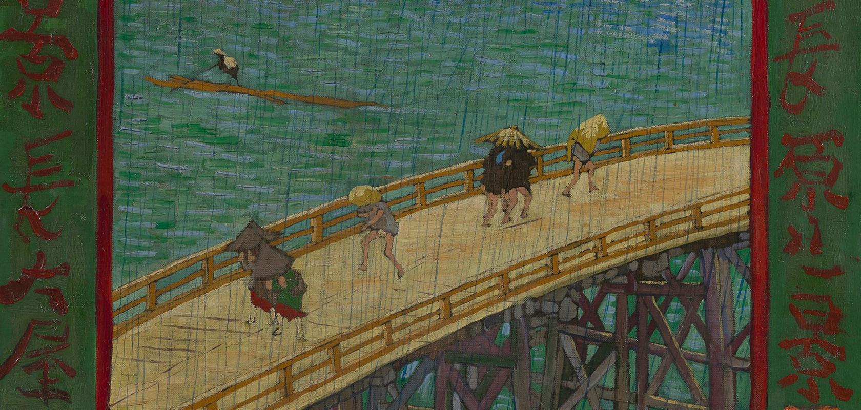 Brug-in-de-regen-naar-Hiroshige-Vincent-van-Gogh-1887-Van-Gogh-Museum-2
