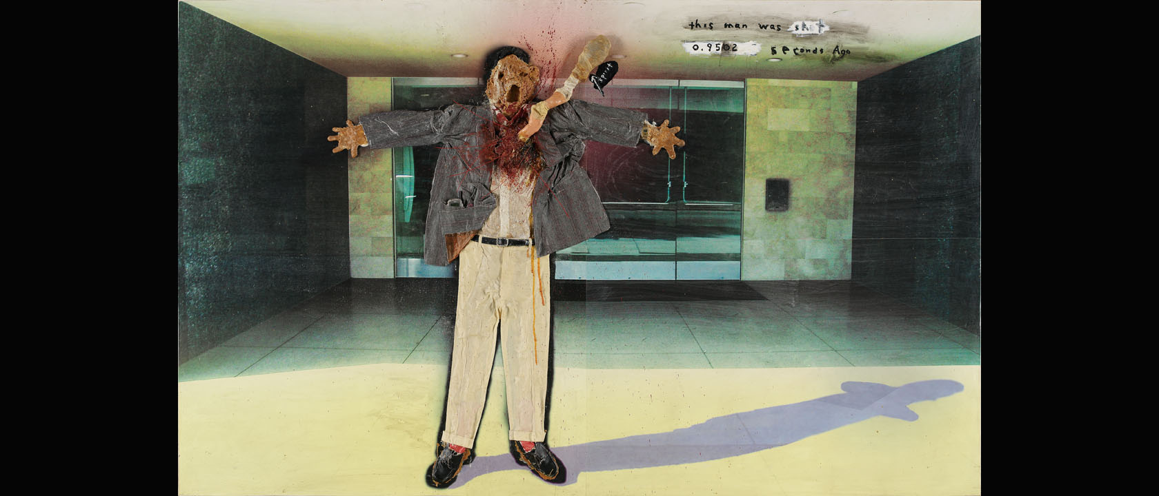 David-Lynch-This-Man-Was-Shot-0.9502-Seconds-Ago-2004-mixed-media-on-panel-courtesy-the-artist-slide-1